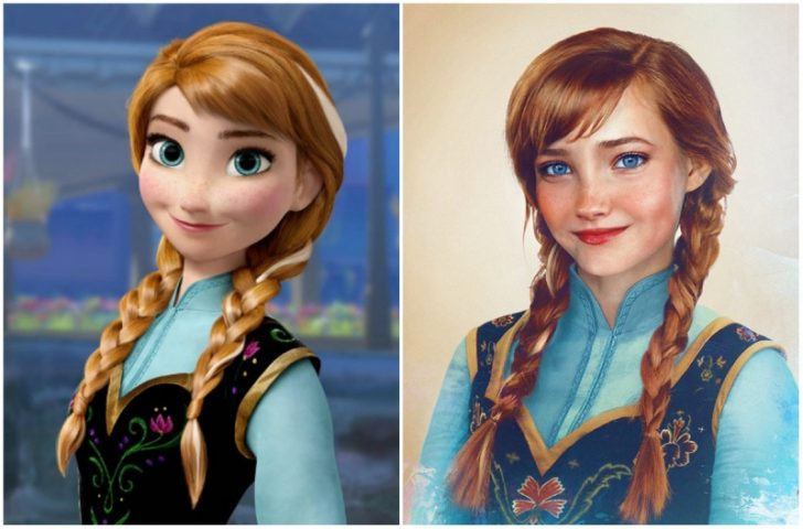 Como serian las princesas de Disney en la vida real 14