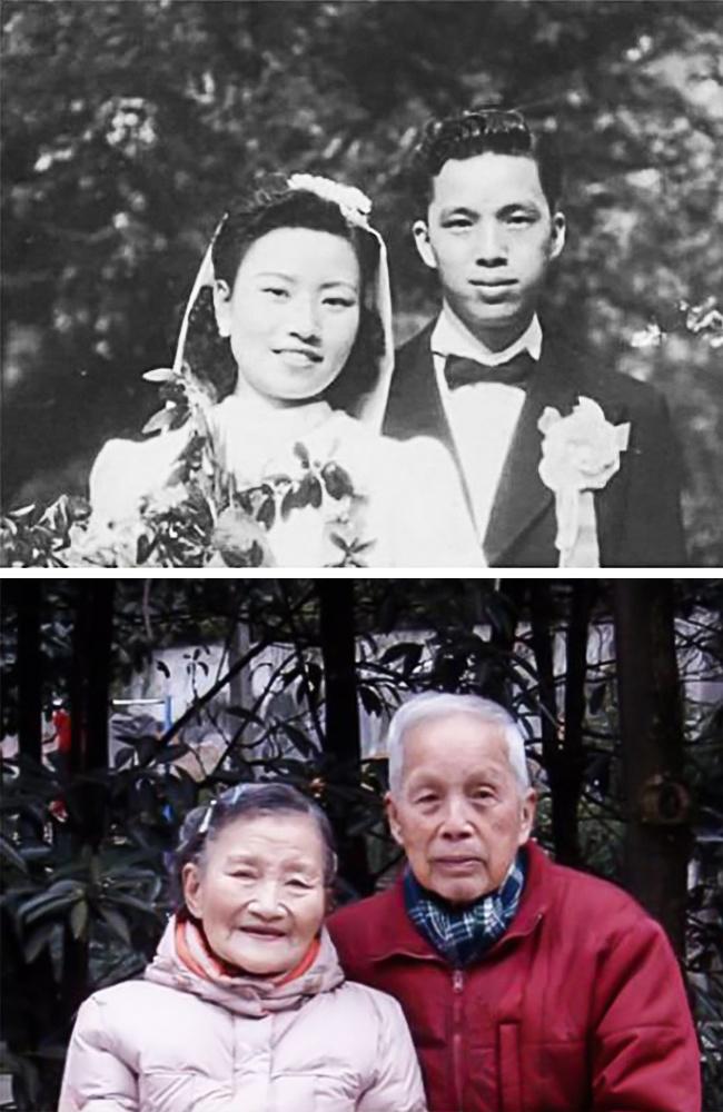 Esta Pareja de 98 años recrea el día de su Boda 70 años después