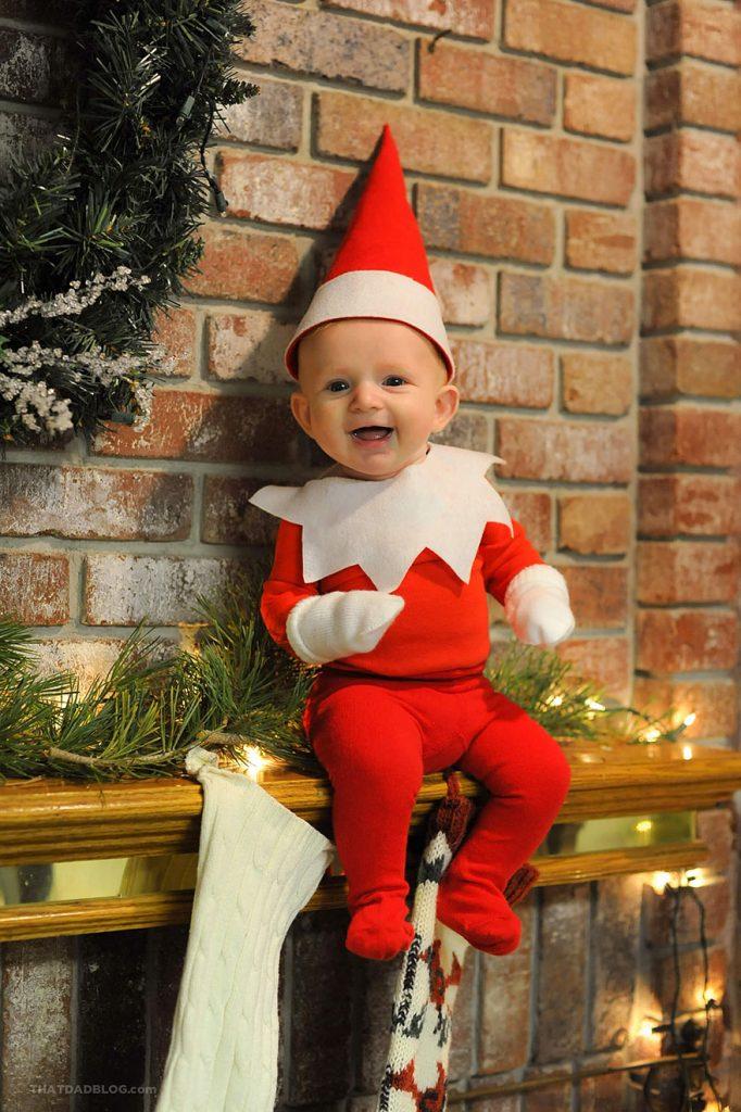 Las travesuras del Elfo Rockwell, el Bebé que está triunfando en Internet