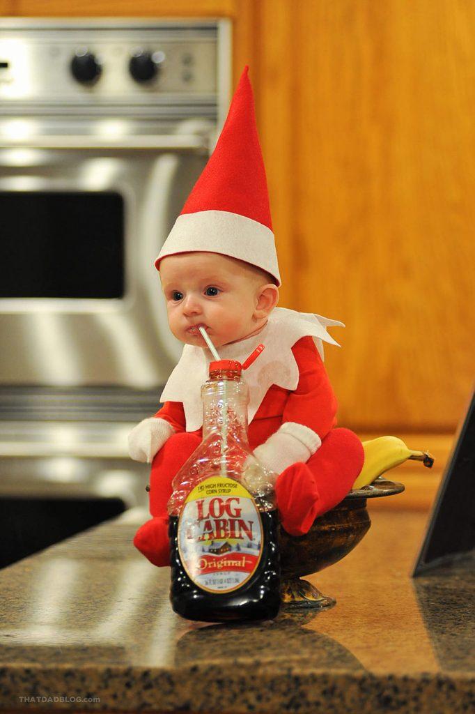El Bebe duendecillo Navideno mas adorable 04