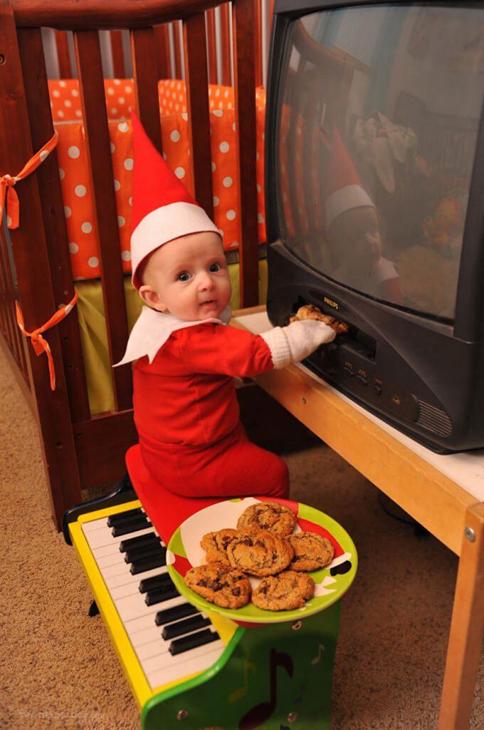 El Bebe duendecillo Navideno mas adorable 09