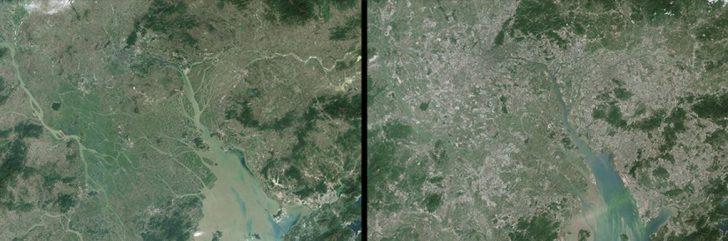 La Tierra Antes y después. Impactantes fotografías de la NASA ¿Qué estamos haciendo con nuestro Planeta?