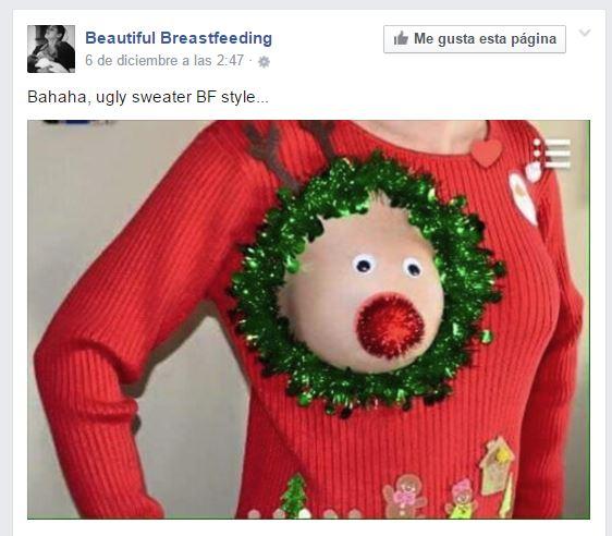 El Horrible Jersey Navideño para las Madres que se ha hecho famoso