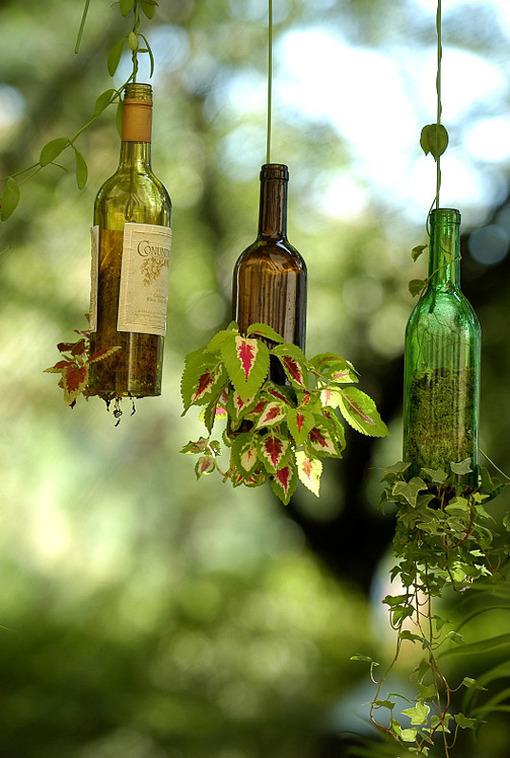 9 Increíbles Ideas para reutilizar las Botellas de Cristal y decorar tu Casa