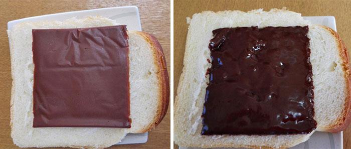 El Chocolate en Lonchas para Sándwiches ya es una realidad, La vida no volverá a ser Igual