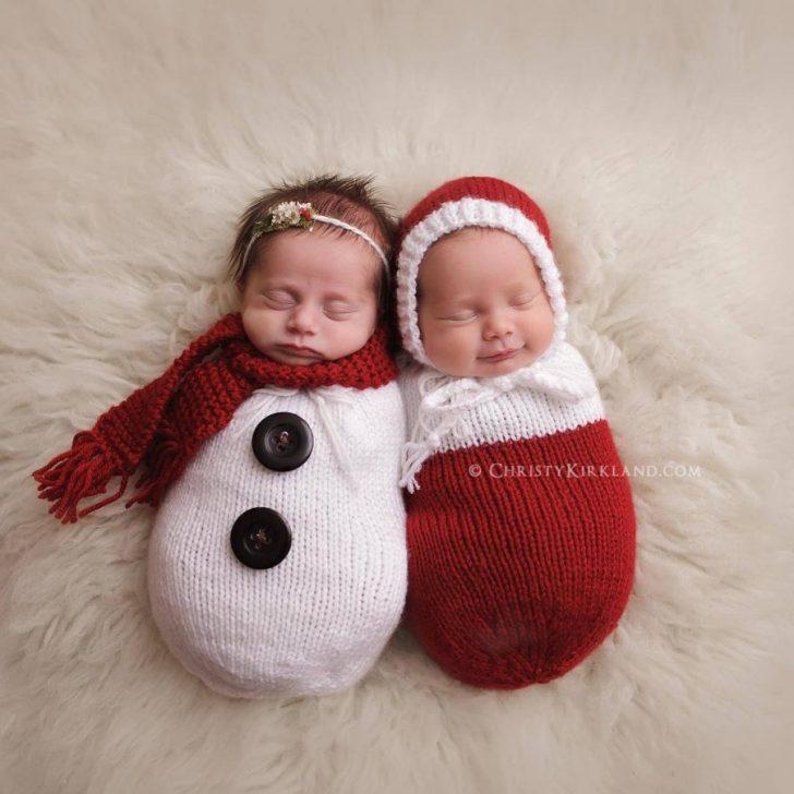 Primera navidad diminutos bebes recien nacidos 01