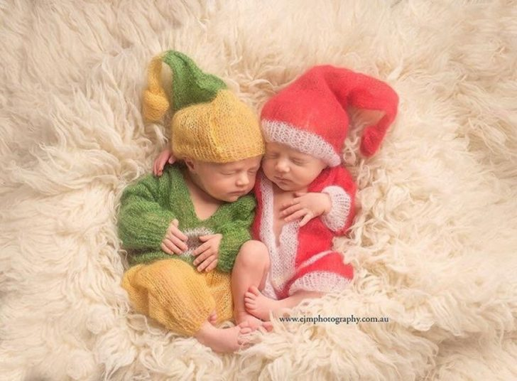 Primera navidad diminutos bebes recien nacidos 07