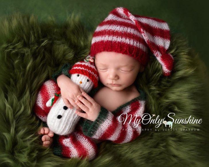 Primera navidad diminutos bebes recien nacidos 11
