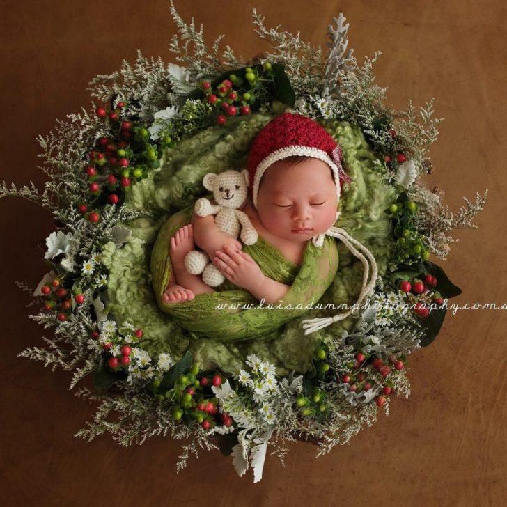 Primera navidad diminutos bebes recien nacidos 12