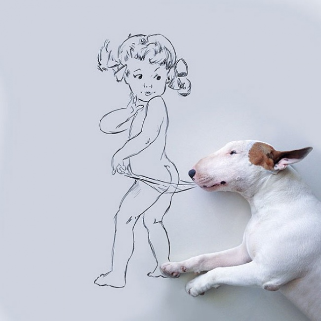 Su ex-mujer le Dejó sin nada excepto un Perro. Y esto es lo que él Hizo...