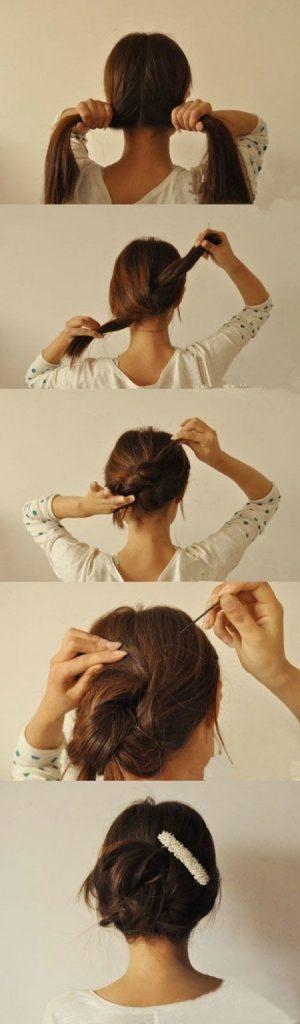 14 Peinados que puedes hacer en tres minutos 01