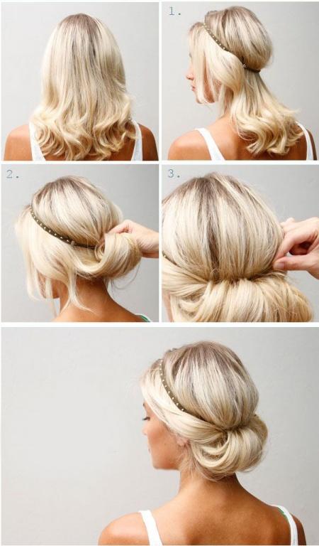 14 Peinados que puedes hacer en tres minutos 03