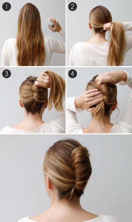 14 Peinados que puedes hacer en tres minutos 06
