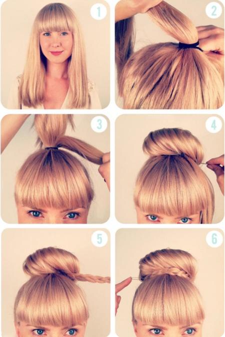14 Peinados que puedes hacer en tres minutos 07