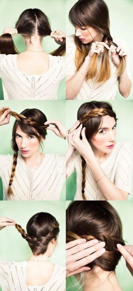 14 Peinados que puedes hacer en tres minutos 11
