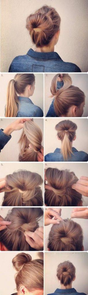 14 Peinados que puedes hacer en tres minutos 13