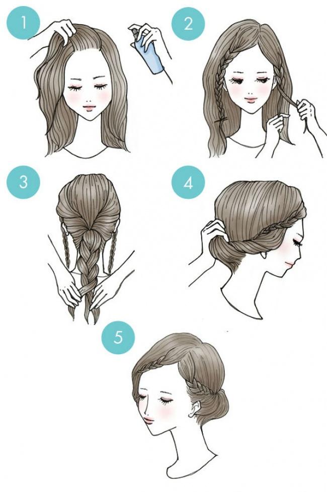 20 Increibles peinados que todos pueden hacer 04