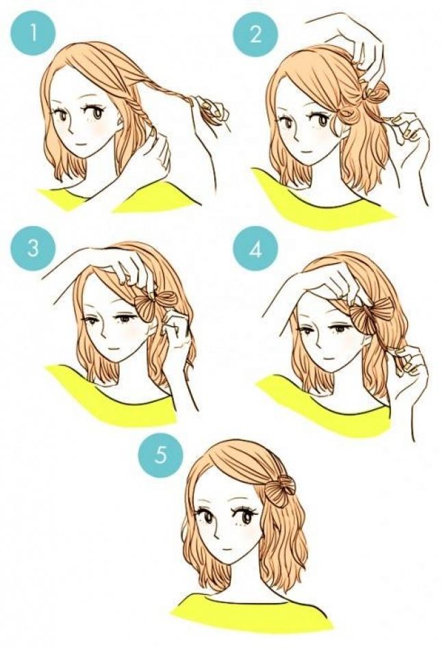 20 Increibles peinados que todos pueden hacer 06