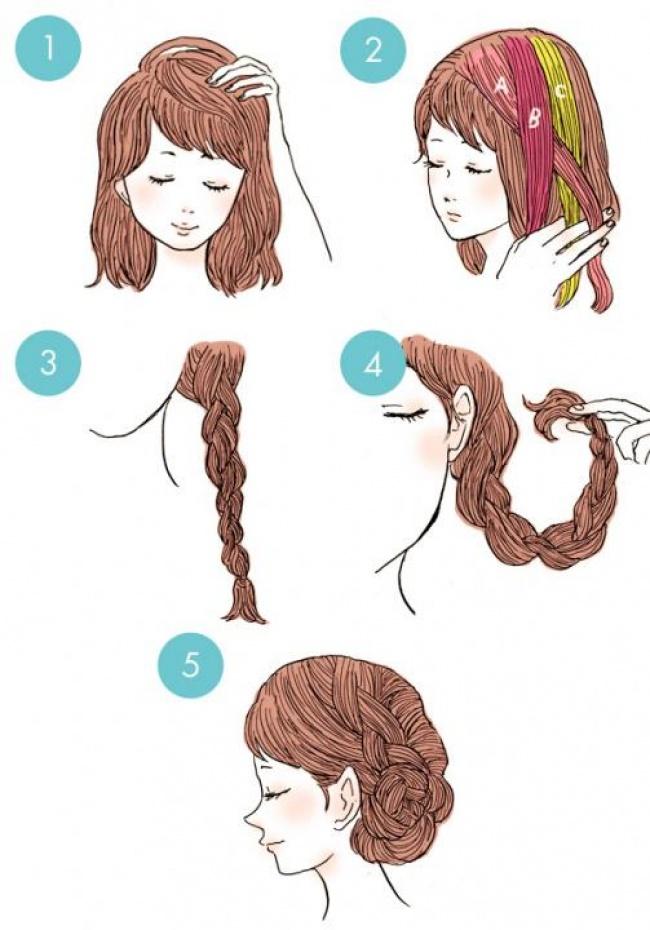 20 Increibles peinados que todos pueden hacer 10