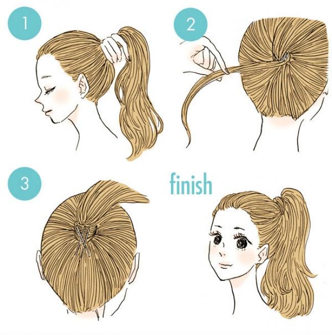20 Increibles peinados que todos pueden hacer 14