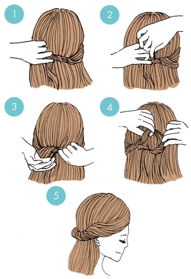 20 Increibles peinados que todos pueden hacer 17