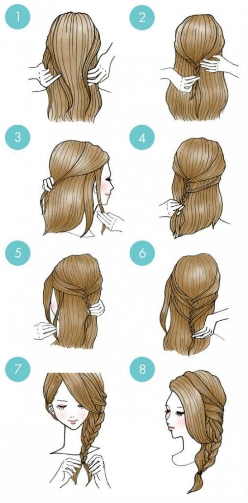 20 Increibles peinados que todos pueden hacer 20