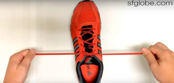 Cómo atarte los Cordones en SÓLO 2 segundos con este Increíble truco