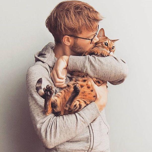 Chicos Sexys con gatitos es todo lo que necesitas ahora miauismo 13