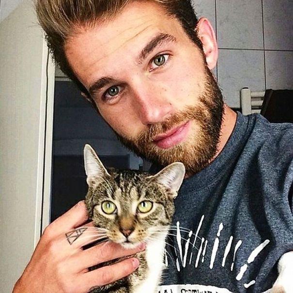 Chicos Sexys con gatitos es todo lo que necesitas ahora miauismo 15