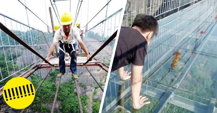 El puente de cristal mas largo del mundo banner