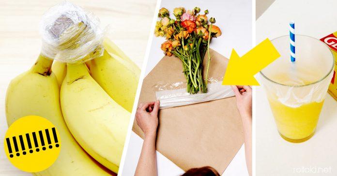 Ideas usos papel film transparente cocina banner