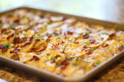 Receta patatas horno bacon queso 06