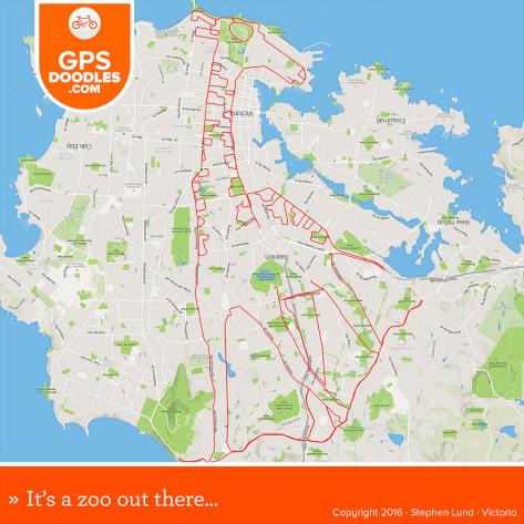 gps bicicleta mapa obras de arte 01