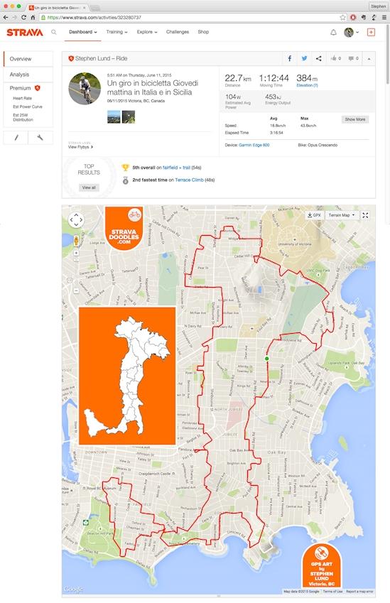 gps bicicleta mapa obras de arte 09