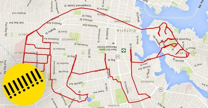 gps bicicleta mapa obras de arte banner