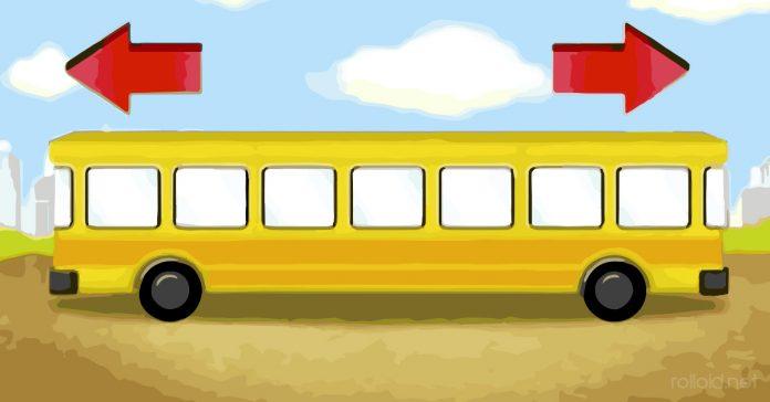 hacia donde se dirige el autobus banner