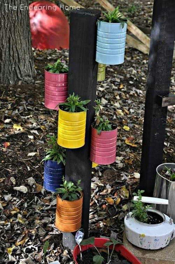 ideas reciclar latas viejas bricolaje 11