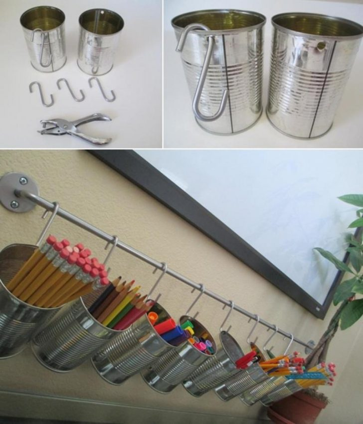 ideas reciclar latas viejas bricolaje 12