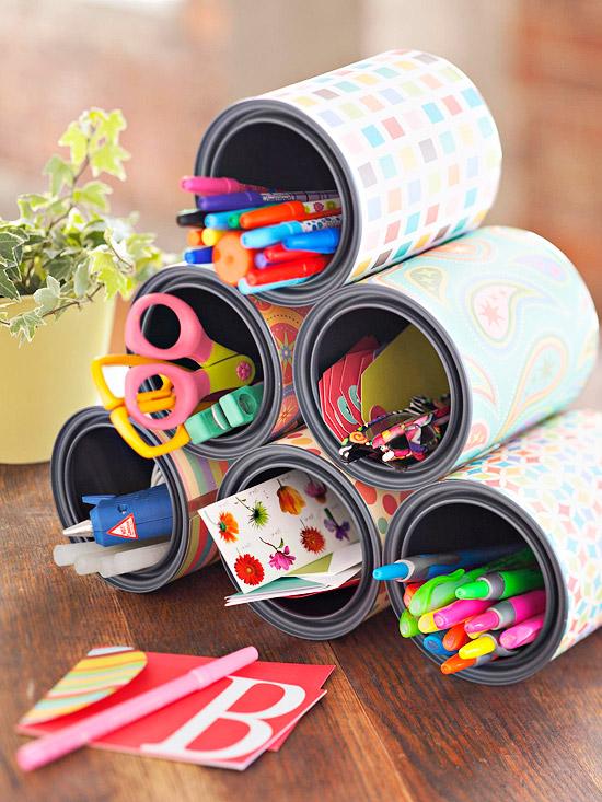 ideas reciclar latas viejas bricolaje 15