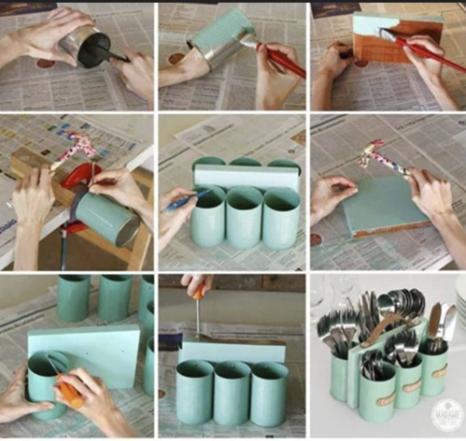 ideas reciclar latas viejas bricolaje 21