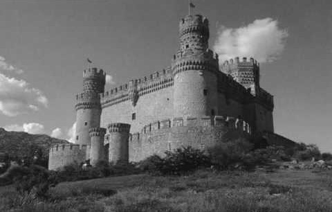 ilusion optica blanco negro castillo color video 01