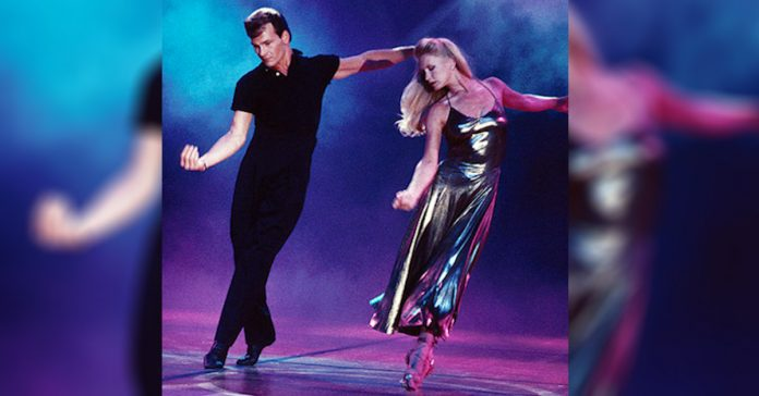 patrick swayze baile mujer increible banner