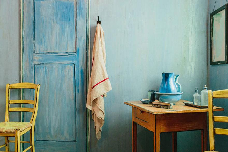 Unos artistas recrean el icónico dormitorio de Van Gogh y lo ponen en alquiler