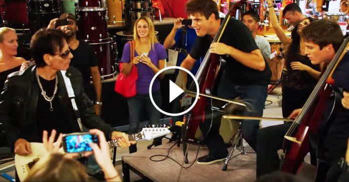 2Cellos Steve Vai Highway to Hell banner