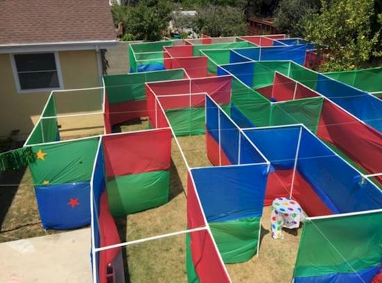 Cómo construir un laberinto en tu jardín para celebrar las mejores fiestas de cumpleaños