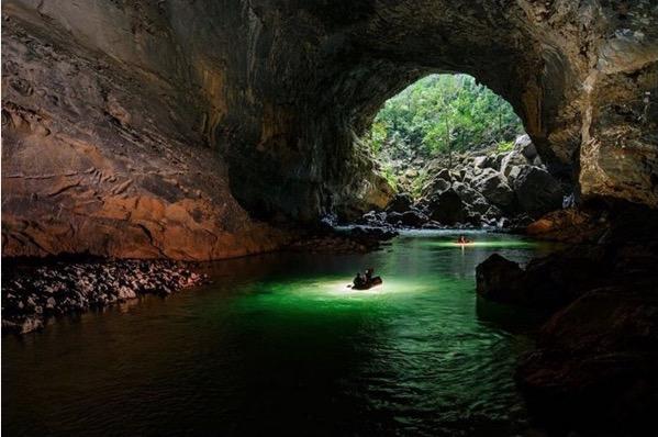 Echa un vistazo al Maravilloso mundo subterráneo que se esconde dentro de esta Impresionante cueva