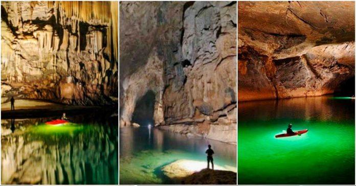 Echa un vistazo al Maravilloso mundo subterraneo que se esconde dentro de esta Impresionante cueva banner