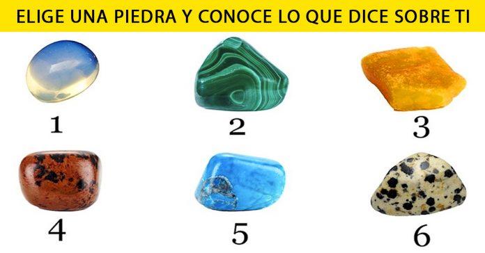 Elige una de las piedras y comprueba que dice sobre ti banner
