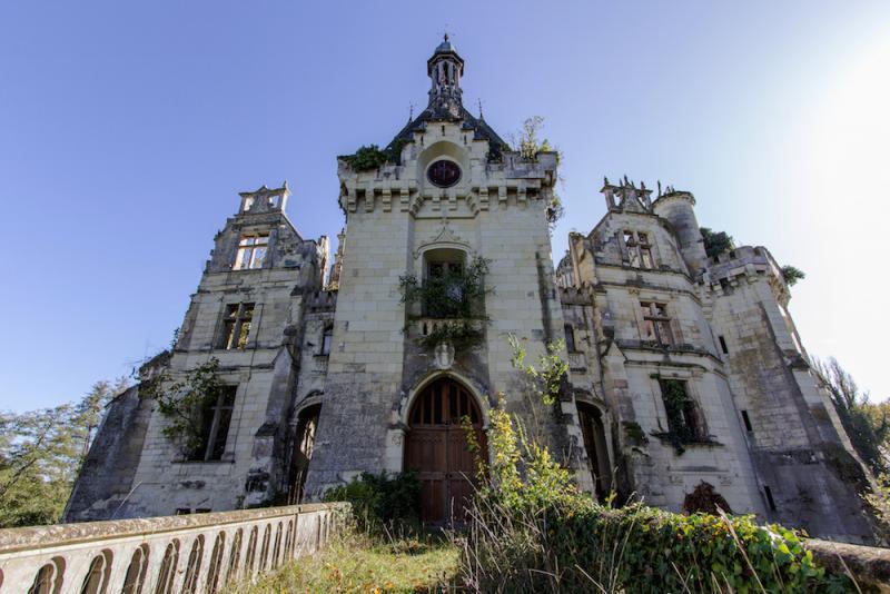 Este Castillo olvidado fue abandonado despues de un terrible incendio en 1932 04
