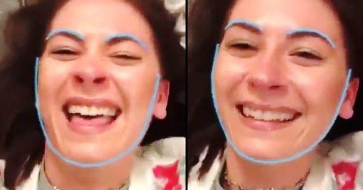 Esta chica se vuelve Viral después de Transformar su cara en el Pecho de su mejor amiga